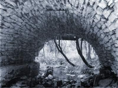 Мост через речку расковалиху